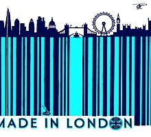 BARCODED IN LONDON by LONDONLIFE