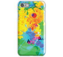 Colorful Ink Splash iPhone Case/Skin