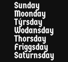 Viking weekdays by Bigmom