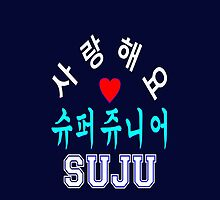 ♥♫SaRangHaeYo(I Love You) K-Pop Boy Band-Super Junior Clothes & Phone/iPad/Laptop/MackBook Cases/Skins & Bags & Home Decor & Stationary♪♥ by Fantabulous