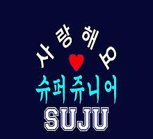 ♥♫SaRangHaeYo(I Love You) K-Pop Boy Band-Super Junior Clothes & Phone/iPad/Laptop/MackBook Cases/Skins & Bags & Home Decor & Stationary♪♥ by Fantabulous