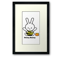 I Love You Collection: Honey Bunny Framed Print