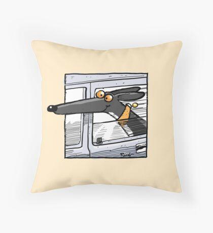 Wheee! Throw Pillow