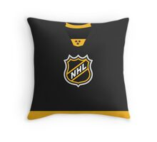 NHL 2016 All-Star Black Jersey Throw Pillow