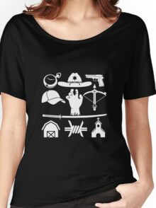 The Walking Dead - Symbols Women's Relaxed Fit T-Shirt