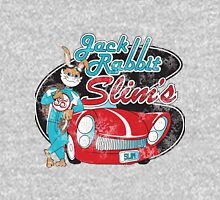 Jack Rabbit Slim's - Racing Restaurant Distressed Variant Womens Fitted T-Shirt
