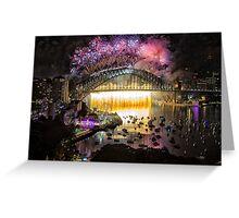 Sydney NYE Fireworks 2015 # 18 Greeting Card