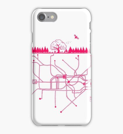 LIFE UNDERGROUND iPhone Case/Skin