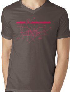 LIFE UNDERGROUND Mens V-Neck T-Shirt