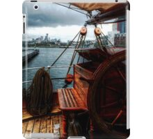 Barque James Craig In Sydney Harbour iPad Case/Skin
