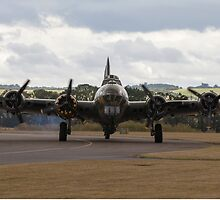 WW2 B-17 Sally B at Duxford by captureasecond