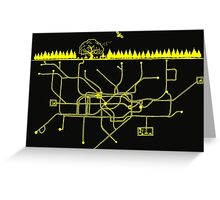 LIFE UNDERGROUND Greeting Card