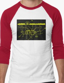 LIFE UNDERGROUND Men's Baseball ¾ T-Shirt
