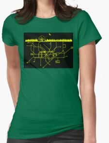 LIFE UNDERGROUND Womens Fitted T-Shirt