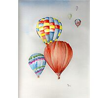 Hot Air Balloons! Photographic Print