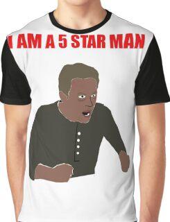 I am a 5 star man Graphic T-Shirt