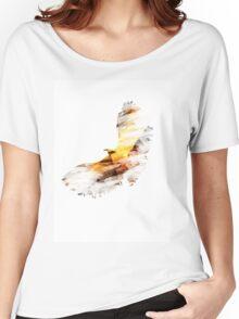 Sunset Raven Women's Relaxed Fit T-Shirt