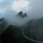 Mist on the Mountains by sandysartstudio