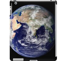 Full Earth showing Europe and Asia. iPad Case/Skin