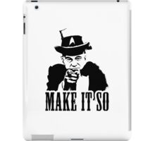 Uncle Picard iPad Case/Skin