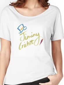 Jiminy Cricket Women's Relaxed Fit T-Shirt