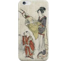 Bows And Arrows - anonymous - c1800 - woodcut iPhone Case/Skin