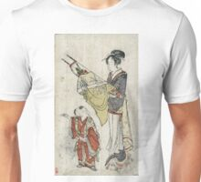 Bows And Arrows - anonymous - c1800 - woodcut Unisex T-Shirt