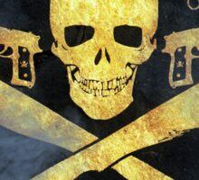 Black Lagoon ROANAPUR Gun Club collor Sticker