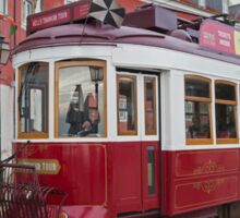 Electric Tram Lisbon Sticker
