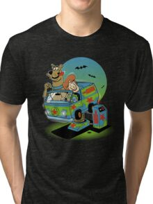 THE MYSTERY MACHINE Tri-blend T-Shirt