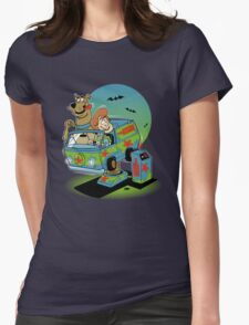 THE MYSTERY MACHINE Womens Fitted T-Shirt