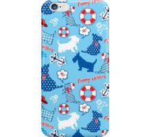 Funny Scottish Terrier Dogs iPhone Case/Skin
