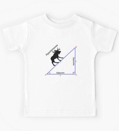 Hypotemoose, Math Humor. Kids Tee