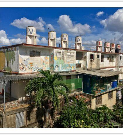 Cuba - Jaimanitas - Viva Cuba Sticker