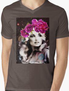 Holy Dolly Mens V-Neck T-Shirt