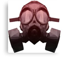 Toxicity Red Canvas Print