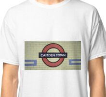 Camden Town Tube Station Classic T-Shirt