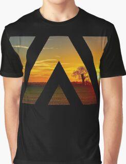 Under a Sunset Sky Graphic T-Shirt