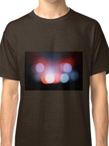 Circle Colour Lights Concert Blur Pattern Classic T-Shirt