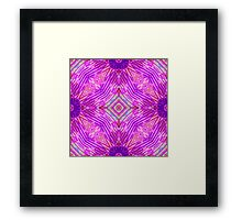 Pink Abstract 2 Framed Print