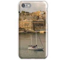 View of Southern Harbour District,Valleta,Malta iPhone Case/Skin