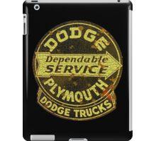 Dodge Plymouth Trucks vintage Service iPad Case/Skin