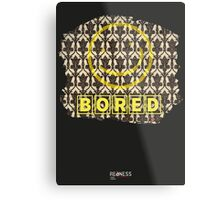 Sherlock: Bored Metal Print
