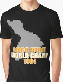 Duck Hunt Gaming Quote Graphic T-Shirt
