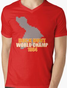 Duck Hunt Gaming Quote Mens V-Neck T-Shirt