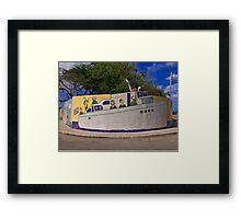 Cuba - Jaimanitas - corner art Framed Print