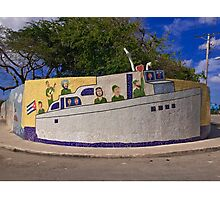 Cuba - Jaimanitas - corner art Photographic Print