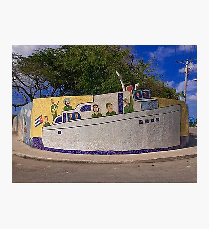 Cuba - Jaimanitas - corner art Photographic Print