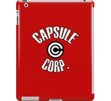 capsule corp logo (dragon ball) iPad Case/Skin