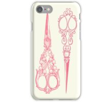 vintage scissors iPhone Case/Skin